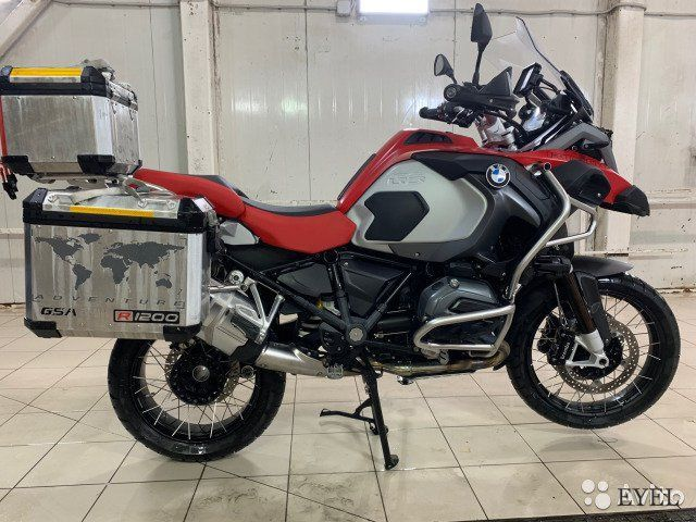 BMW R1200GS Adventure 2016, тюнинг, like new