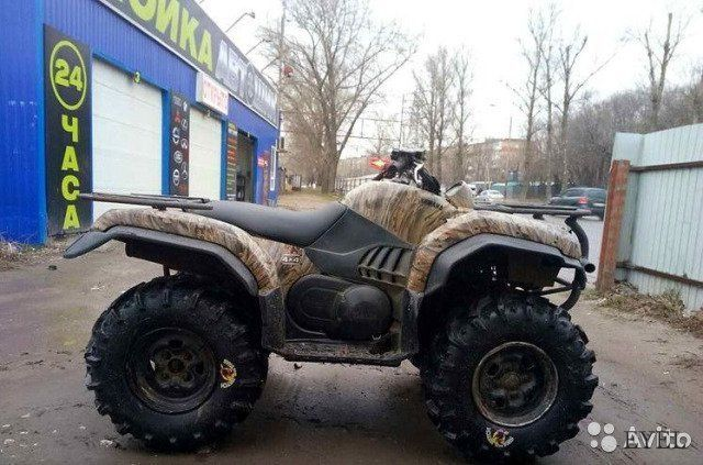 Yamaha Grizzly: